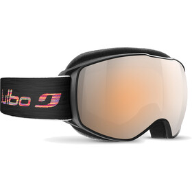 Julbo Echo Gogle, black-red/orange/silver flash